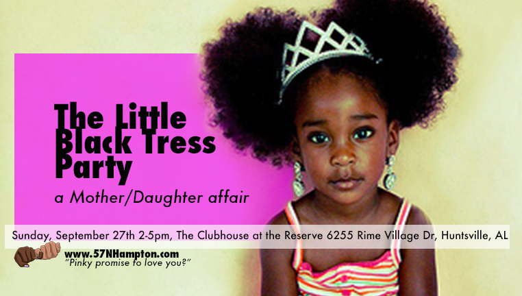 Little Black Tress Party EventBrite