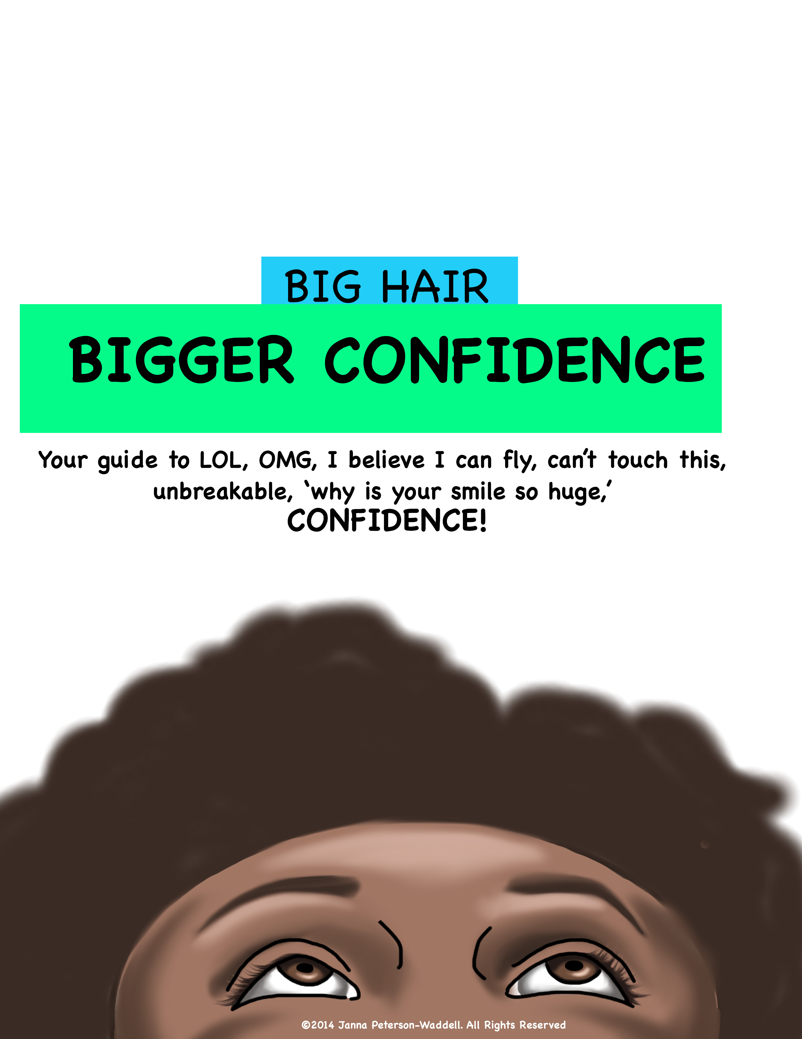 Big Hair Bigger Confidence Cover 2